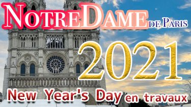 初詣 in PARIS -Notre-Dame-