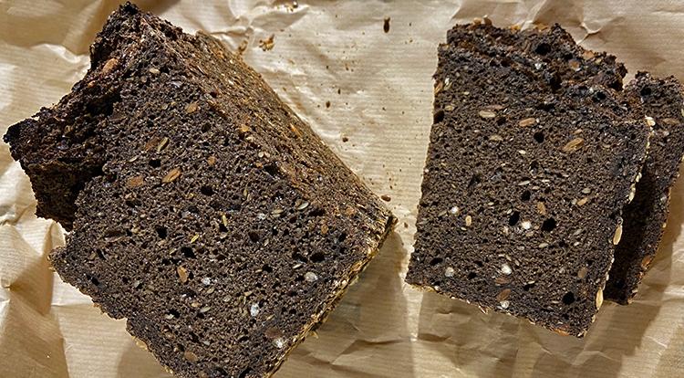テンベルブレッドのライ麦パン