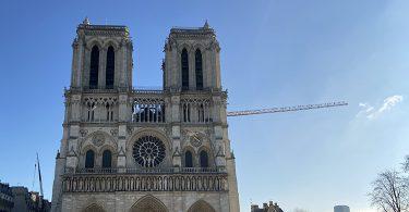 2021年1月9日土曜日 ノートルダム大聖堂復興工事-Notre-Dame-