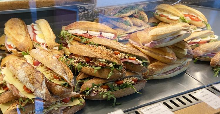 11区ユートピのサンドイッチ