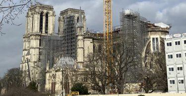 676日目- 2021/02/19金 ノートルダム大聖堂復旧工事の状況