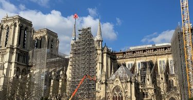 683日目- 2021/02/262金 ノートルダム大聖堂復旧工事の状況