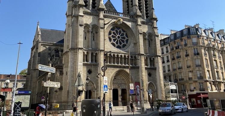 Église Saint-Jean-Baptiste de Belleville教会