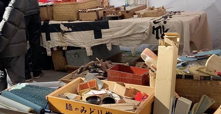日本の古道具が人気