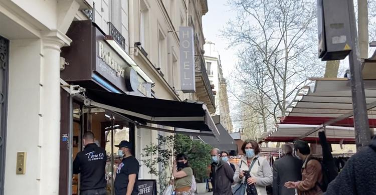 パリ12区のパン屋さん