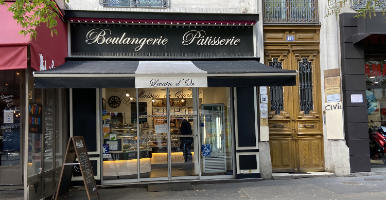 パリのパン屋さん
