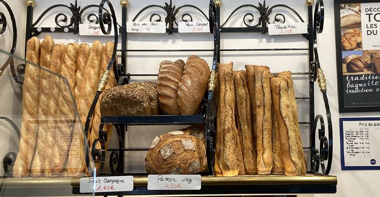 パリ2区のパン屋さん